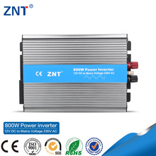 ZTP-800,High Efficiency, LED indicator, 800w,dc/ac single output inverter, charge current adjustable 12/24/48v
