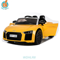 WDHLR8 2018 Newest Licensed Audi R8 Kids Atv Electric Cars and Baby Seat for 4wheel Motorcycle