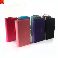 9 Card Slot Wallet Case For Samsung Galaxy Note 3 Case Crazy Horse PU Leather Flip Cover