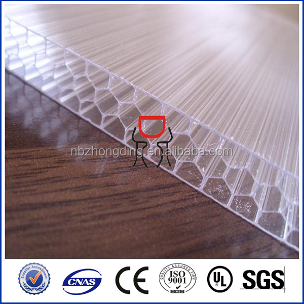 color coated sheet lexan multiwall x structure polycarbonate sheet for green house hail-proof with 10 years guarantee