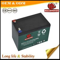 High CCA lead acid battery 12v20ah for electric scooter