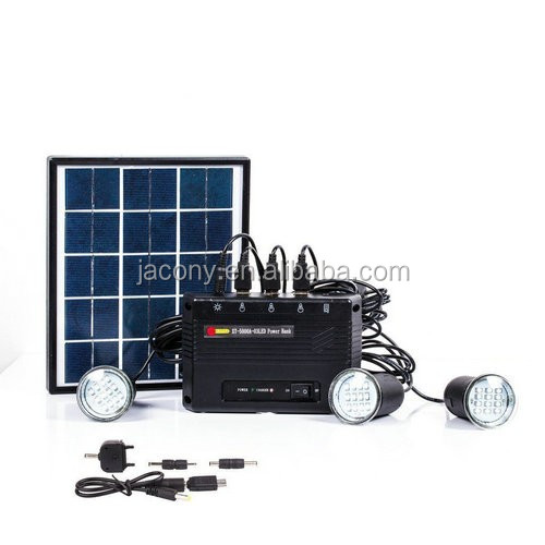 4W solar indoor light system 5V (JL-4510)