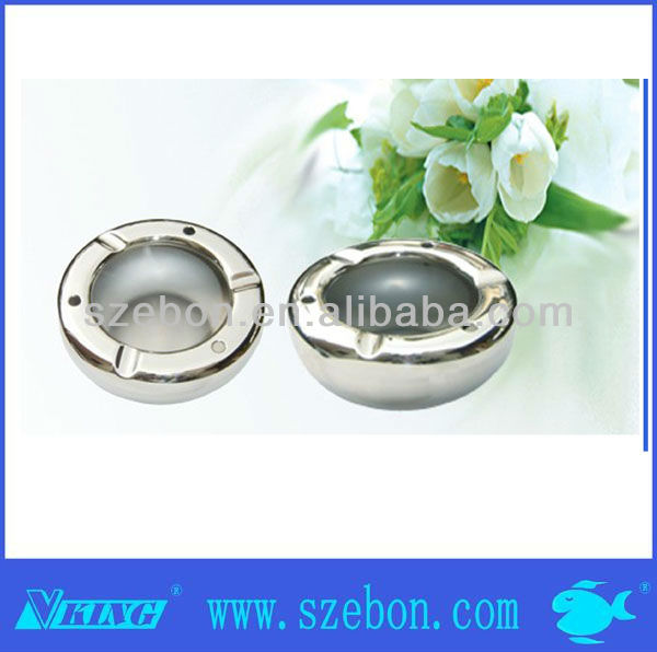 Stainless steel wholesale fish ashtray
