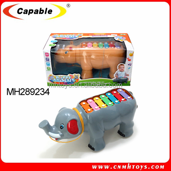 new item cute shape mini musical instruments xylophone toy for baby