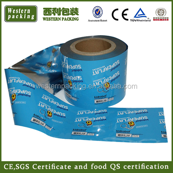 printed plastic packaging film, coffee packaging roll stock