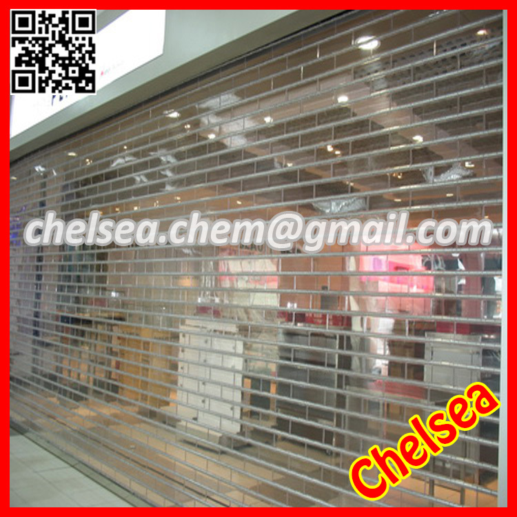 Electric auto transparent security rolling shutter