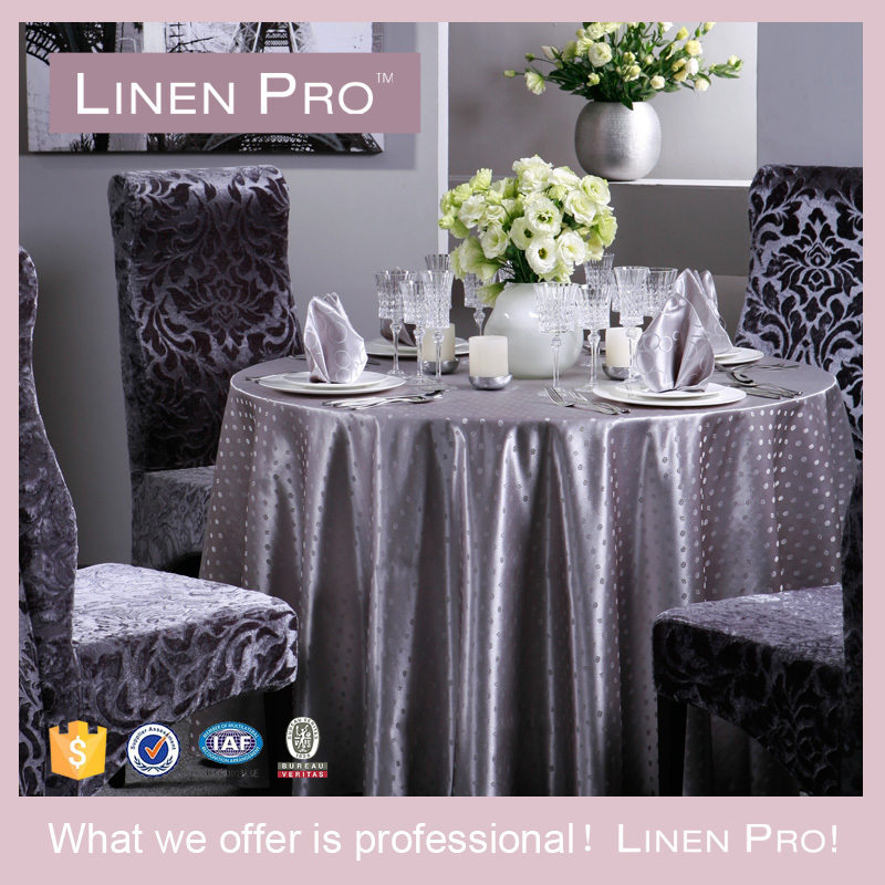 LinenTablecloth 60 x 102 Rectangular Polyester Tablecloth