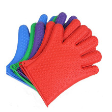 GZY 2015 waterproof high heat resistant silicone oven gloves