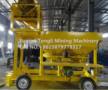 Customized Capacity Gold And Diamond Washing Trommel In Mineral Processing Plant