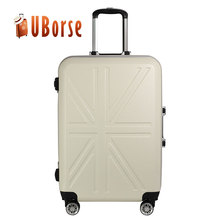 China exported manufacture price valise wheeled trolley suitcase travelling case luggage bag set