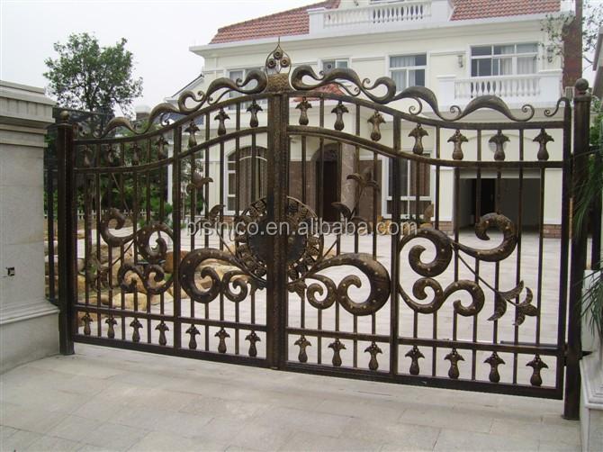 Bisini Sliding Design Iron Gate Sliding Main Gate Design Sliding Design House Iron Gate Buy