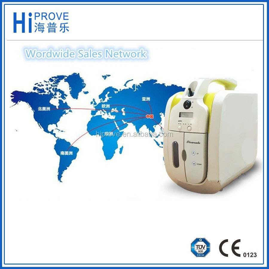 High quality small portable oxygen concentrator generator with CE,ISO
