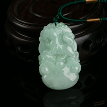 Chinese Traditional 12 zodiac jade (Animals dog)