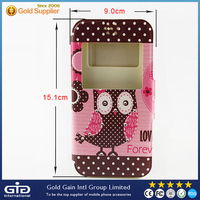 [GGIT] Soft Silicon+PU Case for Universal Mobile Phone Models