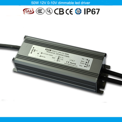 OEM is avaliable waterproof constant voltage switching power supply 50W 12V