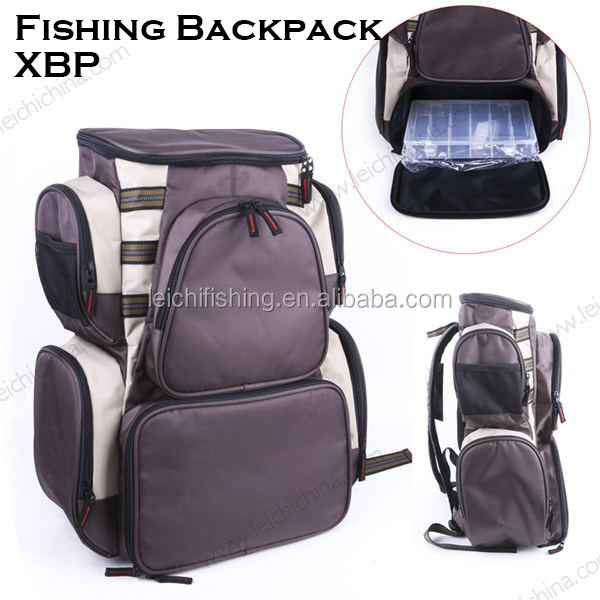Wholesale lure fishing tackle backpack