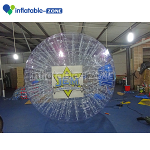 Popular inflatable smash water ball in water mountain zorbing ball