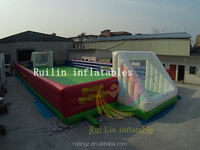2015 new arrival giant soccer field with inflatable floor