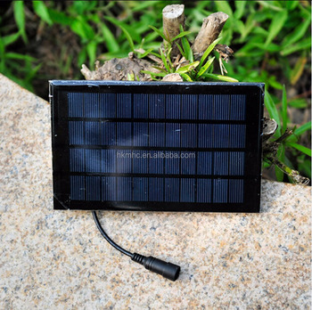 1.8W Portable Solar Panel 6V/1.5A High Efficient Charging for Outdoors Game Electronics
