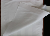 100% polyester satin stripe fabric for making bed sheets