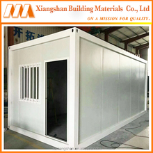 Low Cost Waterproof Fireproof Anti-Corrosion Tiny Prefab Container House