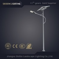 10m single-arm pole 150w mount/street light