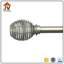 2016 Best seller products of aluminium curtain rod, european style stainless steel metal curtain rod