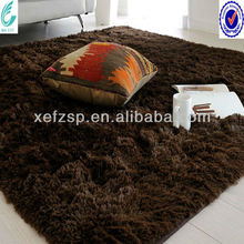luxury rabbit fur shaggy casino carpet