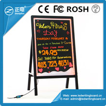 New invention led electronic writing advertising board with a frame sign