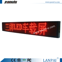 "(LANPAI)31.5""x4.6"" Indoor,window car led sign,scrolling moving taxi messages\"