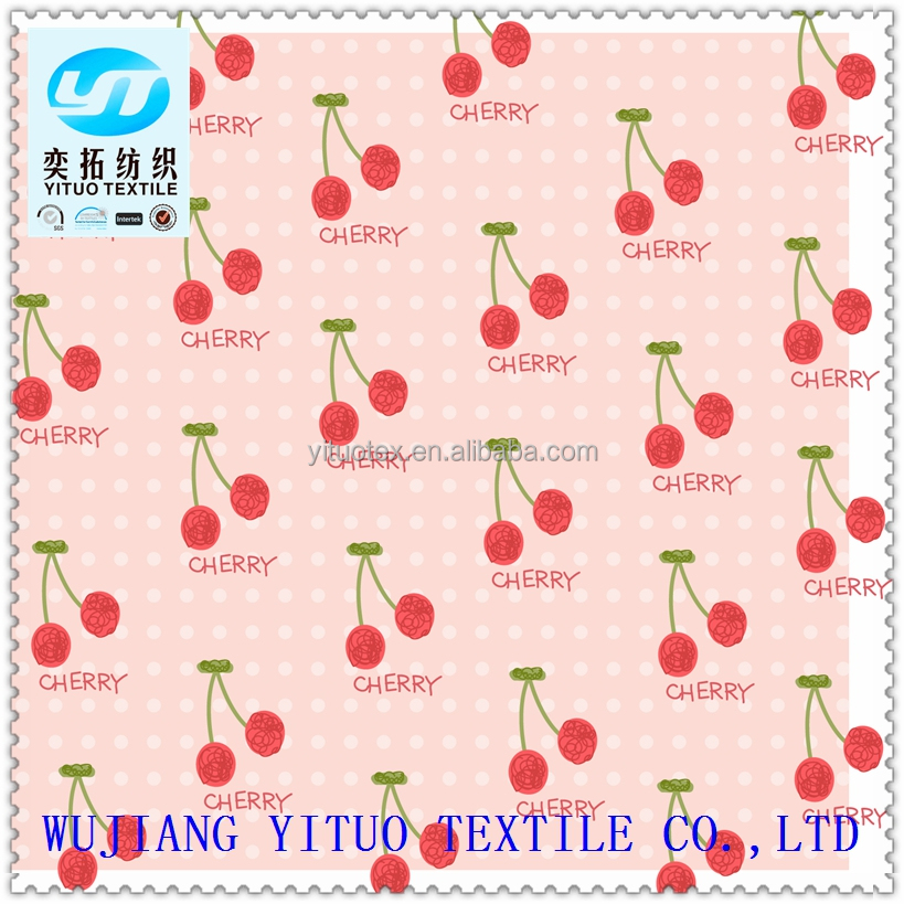 YT Hi-Q Low price Wholesale 100% polyester imitated silk printed chiffon fabric rolls