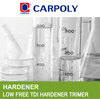 CARPOLY Aromatic isosyanurates, Glossy finishes, Trimer G21E-50P, Low free TDI hardener