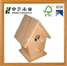 FSC elegant antique outdoor cheap make wooden bird cage for sale