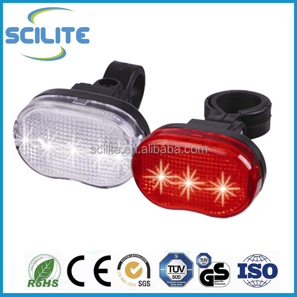 Bicycle light set 5 LED Headlight And Taillight