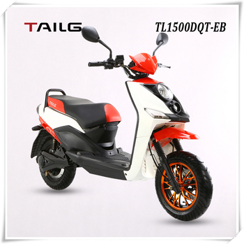 electric motorcycle made in china tailg pedals moped e motorcycle steel eec scooter for sales TL1500DQT-EB
