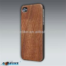 Black Walnut Wood Phone Case For iPhone 5 Natural raw material