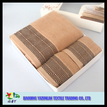 wedding favor gift towel set in gift box /gift packed towel