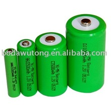 1 2v aa rechargeable battery