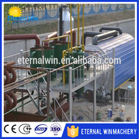 Change black oil to yellow used motor oil recycling plant Petroleum oil refinning machine