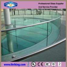Thriking glass Alibaba house plan 8MM 10MM 12MM tempered glass railing