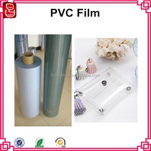 Crystal Clear Soft PVC Foil For Making Packing Bag