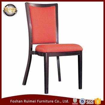 wholesale stainless steel modern fabric dining chair