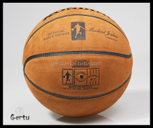 PU TPU PVC rubber yiwu basketball factory
