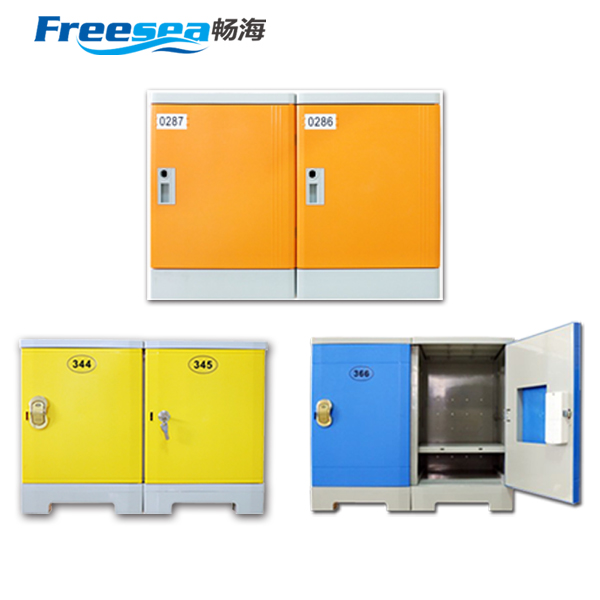 Intelligent parcel delivery locker ABS plastic locker made in china factory