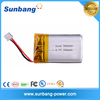 3.7v 250mah 502030 Li-po rechargeable battery for Romote Control aircraft