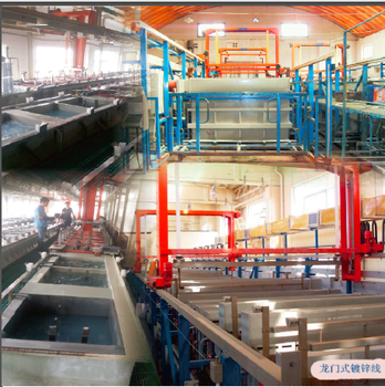 Automatic Gantry Type Zinc Barrel Electroplating / Galvanizing Production Line