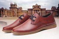 2016Fashion 100% Genuine Leather Business Casual Classic Gentleman Shoes men
