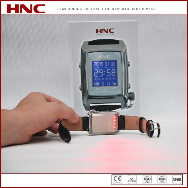 HNC factory offer low level laser lllt laser therapy watch for reducing high blood sugar, high blood pressure