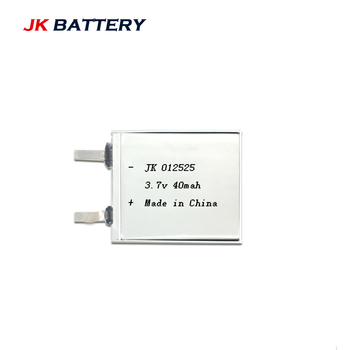 Battery Customized1mm Thickness 3.7 Volt Li-polymer Rechargeable battery 3.7V 40mAh Lipo battries