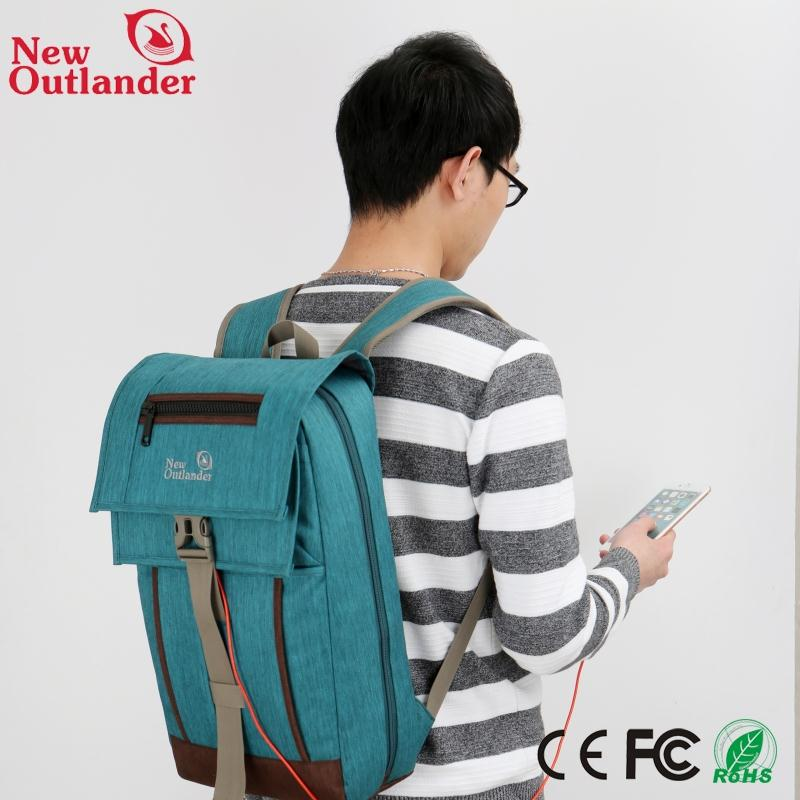 Fashion high quality nylon waterproof laptop trolley bag